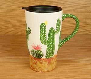 Encino Cactus Travel Mug