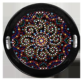 Encino Mosaic Mandala Tray