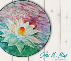 Encino Lotus Flower Plate