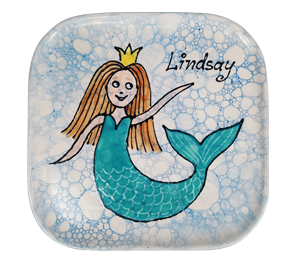 Encino Mermaid Plate