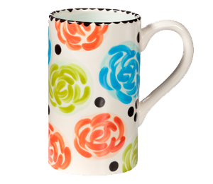 Encino Simple Floral Mug