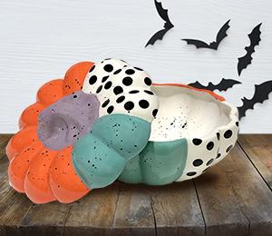 Encino Color Block Pumpkin