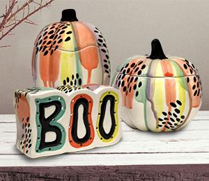 Encino Drippy Pumpkin Box