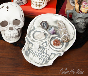 Encino Vintage Skull Plate