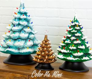 Encino Vintage Christmas Trees
