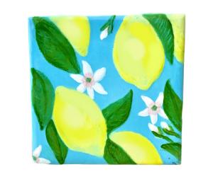 Encino Lemon Square Tile