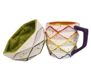 Encino Rainbow Prism Mug