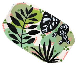 Encino Leafy Charcuterie Board
