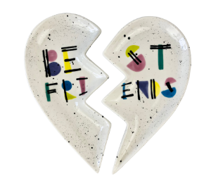 Encino Best Friends Plate Set