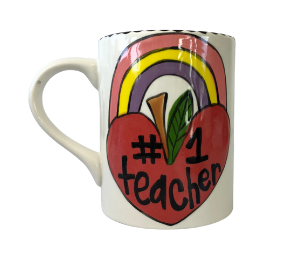 Encino Rainbow Apple Mug